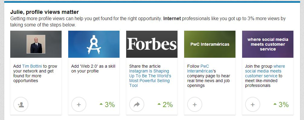 LinkedIn Get More Profile Views
